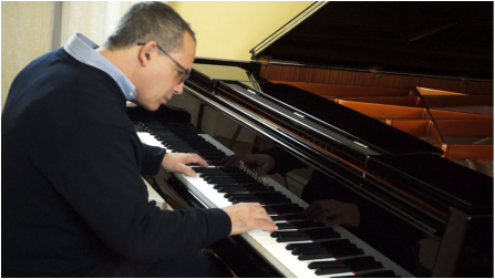 Mark Polishook Pianist and Tutor
